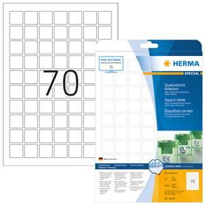 Bilde av MOVABLES avtagbare etiketter, 25 ark, kvadratisk