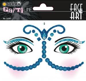 Bilde av FACE ART Sticker Bollywood til ansiktet, 1 ark (5