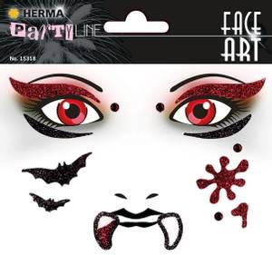 Bilde av FACE ART Sticker Vampire til ansiktet, 1 ark (5