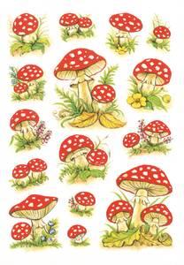 Bilde av DECOR Stickers Fluesopp, 3 ark (10 pakk)