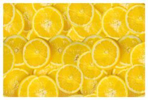 Bilde av Bordbrikker i plast, 45 x 30 cm, Fresh Lemons (4