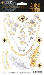 Bilde av FLASH TATTOO DIAMONDS, 13 motiver (5 pakk)