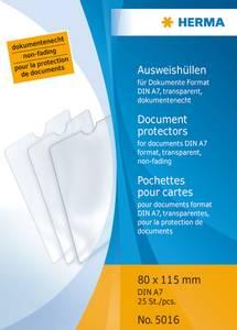 Bilde av HERMA plastlommer i klar plast 80x115 mm, A7 (25