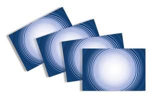 Bilde av Bordbrikker i plast, 45 x 30 cm, Ceramica Mijas