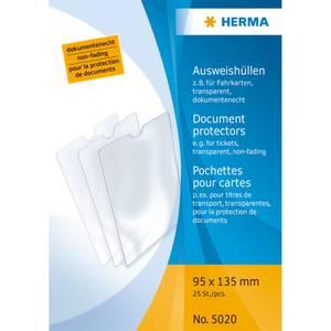 Bilde av HERMA plastlommer i klar plast 95x135 mm (25 stk)